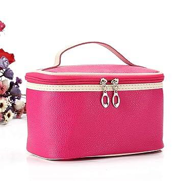 1984855b8c4d Amazon.com   Women Men Large Waterproof Makeup Bag Women Travel Toiletry  Wash Toiletry Bag Make Up Case Cosmetic Bag Organizer Bags pinksmile    Beauty