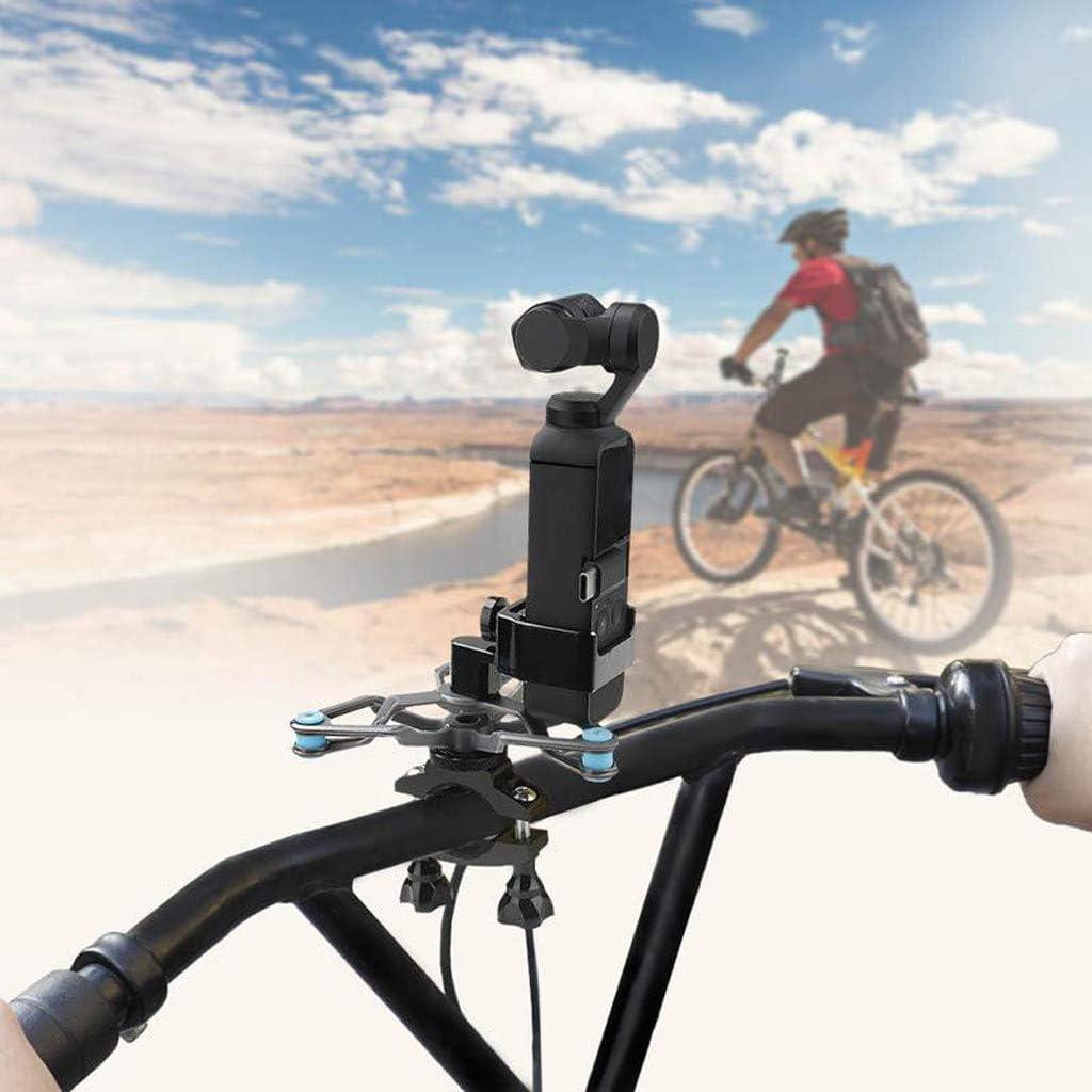 Soporte de abrazadera fija, soporte estabilizador de cardán KCPer para coche, bicicleta, motocicleta para DJI OSMO Pocket Handheld estabilizador de cardán de 3 ejes: Amazon.es: Bricolaje y herramientas