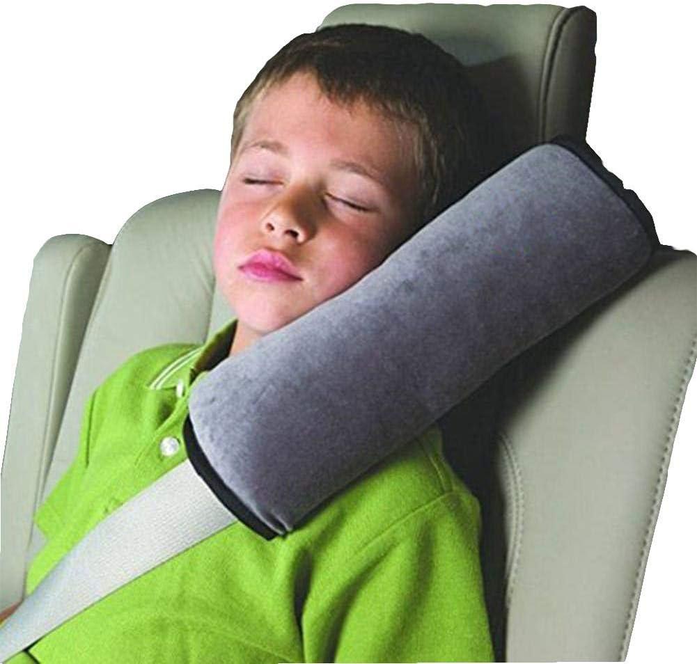 Renquen Oreiller de soutien de cou et d/épaule pour b/éb/é ceinture de s/écurit/é coussin housses de ceinture de voiture accessoire de s/écurit/é coussin de s/écurit/é /équilibre de temp/&ea