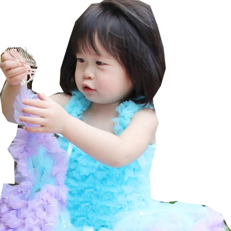 Kirei Sui Girls Ruffled Tank Top