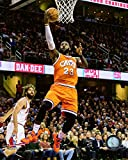 LeBron James Cleveland Cavaliers NBA Action Photo (16'' x 20'')