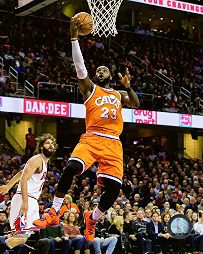 LeBron James Cleveland Cavaliers NBA Action Photo (16'' x 20'') by Photo File