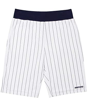 424d82bddef46 Undefeated Men`s Pinstripe Shorts (Xlarge, White) at Amazon Men's ...