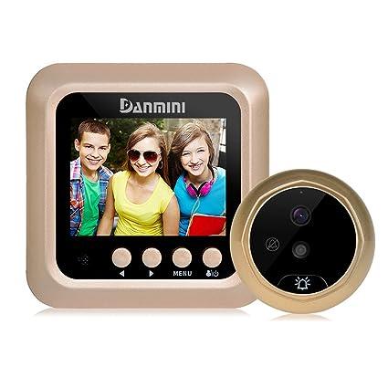 W5 2.4u0027u0027 Peephole Viewer Camera Door Eye No Disturb Doorbell Door Bell Security Cam  sc 1 st  Amazon.com & Amazon.com: W5 2.4u0027u0027 Peephole Viewer Camera Door Eye No Disturb ...