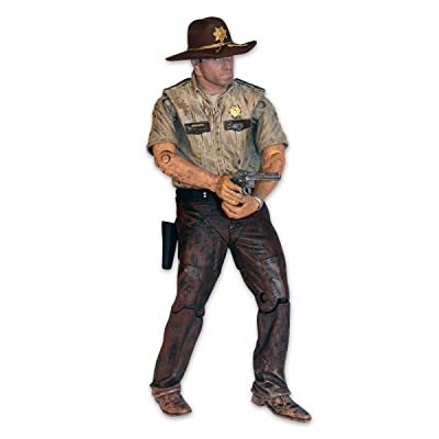 Walking Dead The TV Series 7 Exclusive Rick Grimes Action Figure: Toys & Games