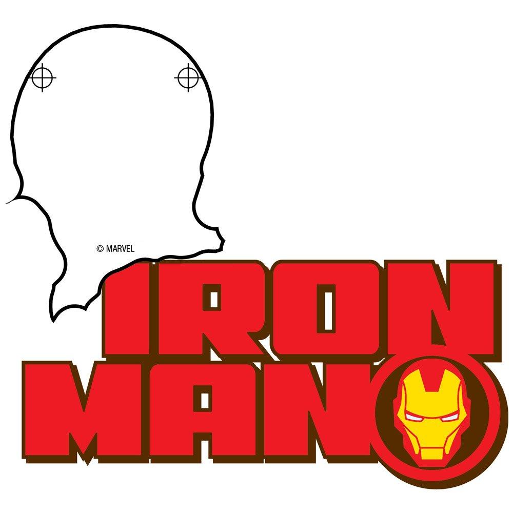 3DLightFX Marvel Avengers Iron Man Mini 3D Deco Light