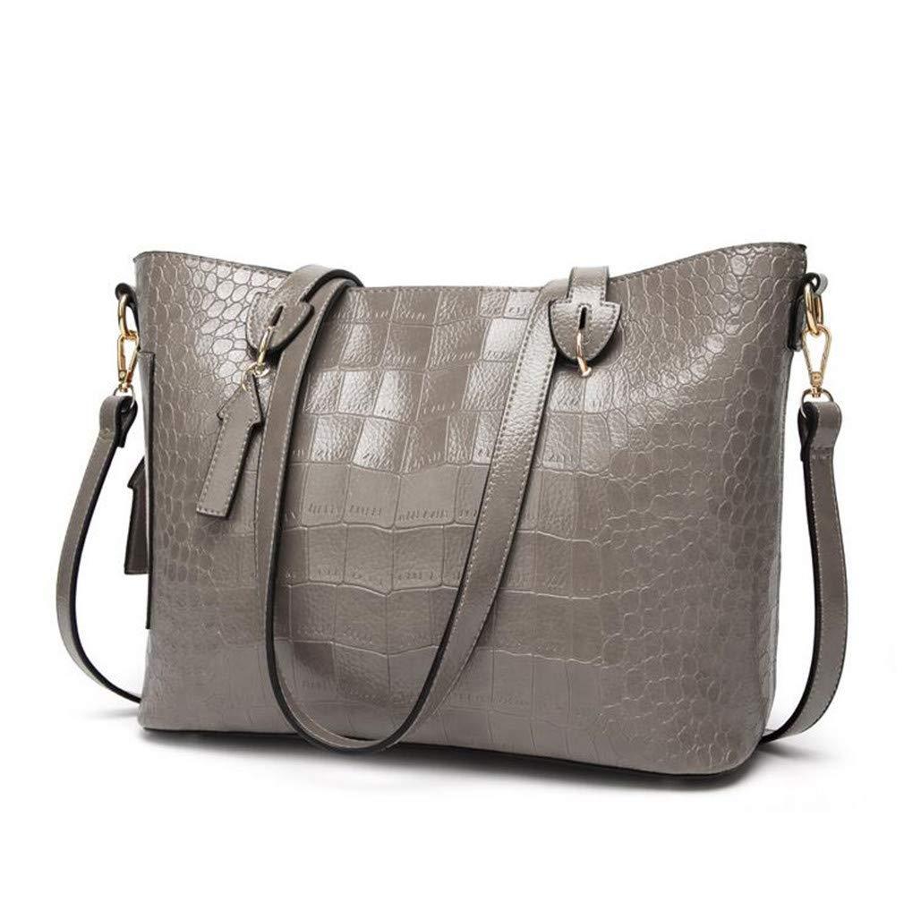 311ce083df3a1 Frauenhandtasche PU Leder Crocodile Skin Textur Crossbody Crossbody  Crossbody Large Capacity Fashion Multifunktion Life Wild Shoulder Bag Tote  Tasche ...