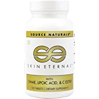 SOURCE NATURALS Skin Eternal Tablet, 120 Count