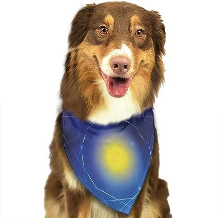 Amazon com : Nutmix Dogs Bandana Adjustable Pets Triangle
