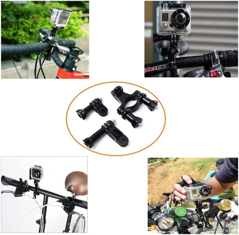 YHTSPORT 20-In-1 for Gopro Accessories,Action Camera Accessory Kit for GoPro Hero Session Hero 6 5 4 3 SJ4000 Xiaomi Yi DBPOWER and Other Sports Cameras