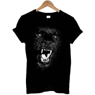 849eb8a2c2a75 Bang Tidy Clothing Men's Black Panther T Shirt