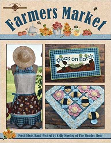 Farmers Market Booklet By The Wooden Bear Quilt Designs Item