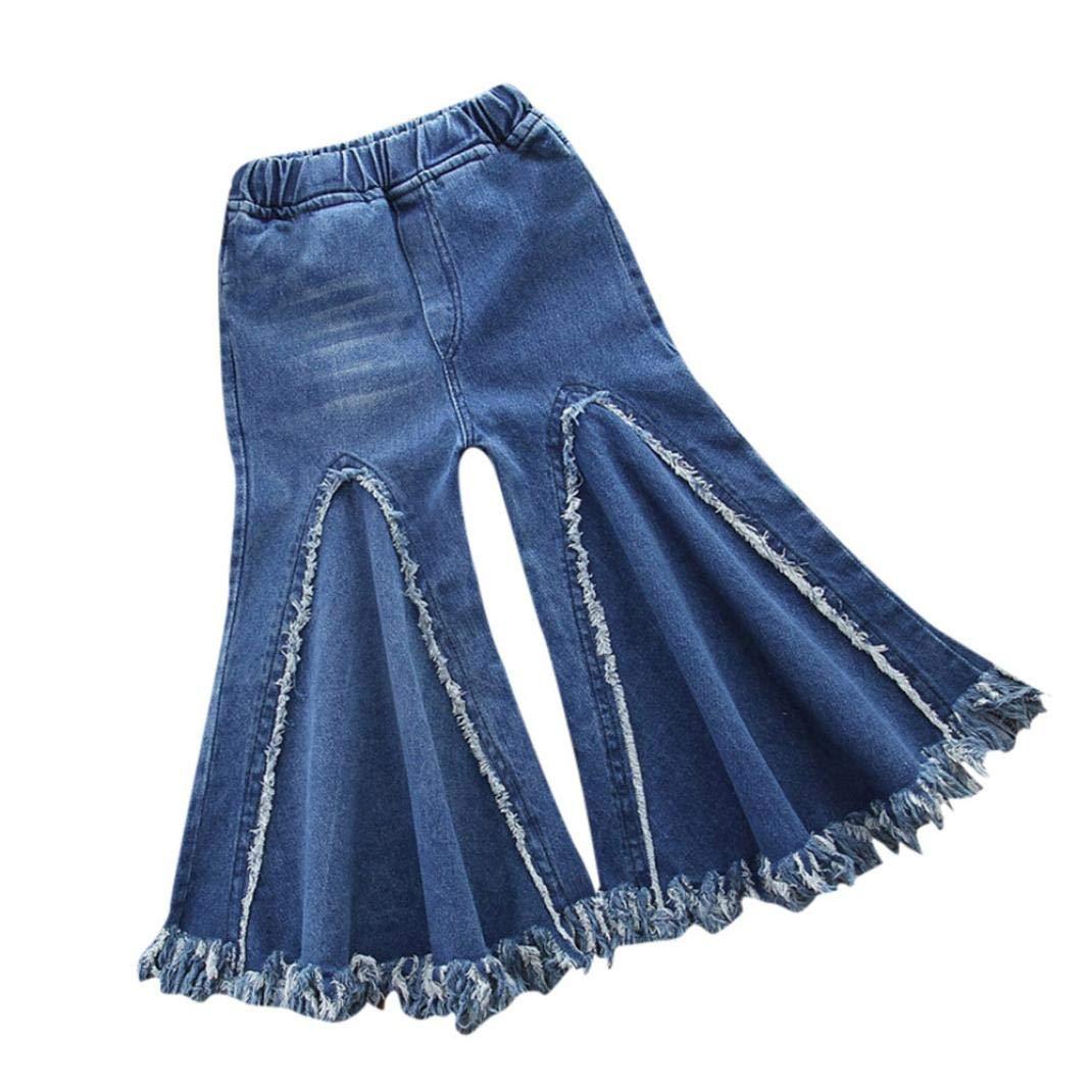 Tassel Jeans Kid Pants, Fineser Children Infant Toddler Baby Girl Boys Tassel Denim Clothes Jeans Pants Clothes
