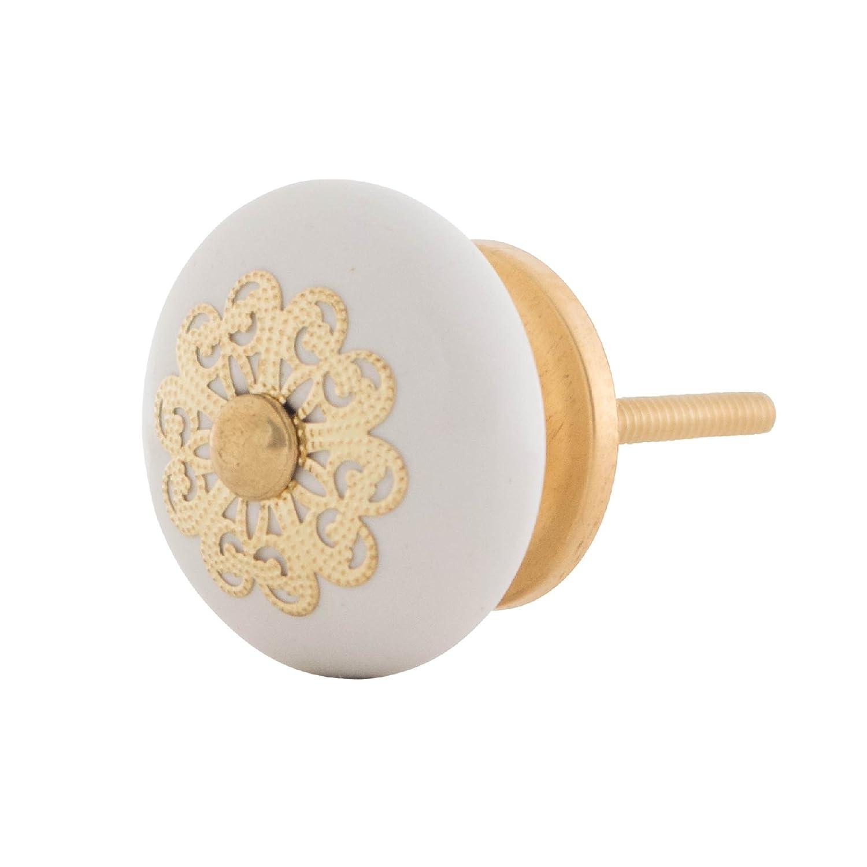 Möbelknopf Knauf Griff Knopf Möbelknauf für Eine Wertige und stilechte Möbelgestaltung mit filigraner Krone Serie AD Knober
