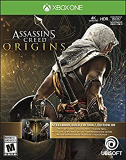 Assassins Creed Origins Gold Edition (Includes Steelbook + Extra Content + Season Pass subscription) - Xbox One (B072JTV5Y6) | Amazon Products