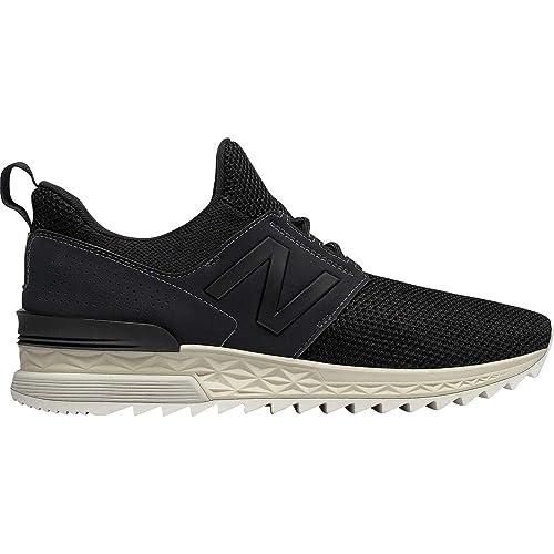 buy online bf84e 619d4 Amazon.com | New Balance 574 Sport Shoe Men's Casual Black ...