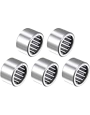 uxcell SCE1210 Needle Roller Bearings, Drawn Cup Open End, 3/4-inch Bore 1-inch OD 5/8-inch Width 12800N Static Load 17500N Dynamic Load 5pcs