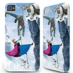 4.7 inch Iphone 6 Hard Case Cover - Disney Frozen Elsa Anna Olaf 07