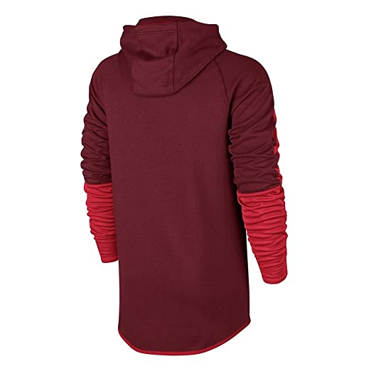 Nike M Nsw Av15 Hoodie Po Flc Sudadera, Hombre, Rojo (Team Red ...