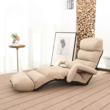 Lounge Chair Indoor Folding Lazy Sofa Chair Stylish Sofa Couch Beds Lounge Chair W Pillow Chair Bed Chaise Lounge Indoor Video Game Chair Color C Amazon Ca Home Kitchen