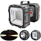 Fdrirect Lanterna de Cabeça Dupla Holofote USB Recarregável Portátil Ao Ar Livre Super Brilhante Luz de Trabalho Lanterna Rec