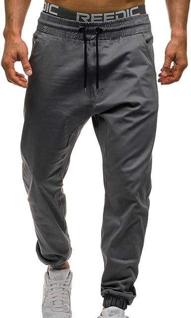 Pantalones De Verano Para Hombre Casuales Slim Fit Con Cordon Pantalones De Tela Suaves Comodos Pantalones Chinos Para Jogger Amazon Es Ropa Y Accesorios