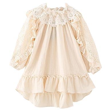 Yue Lian Yue Lian Mädchen Sommer Kleider Blumenkleid Strandkleider ...