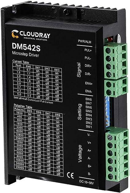 Controlador de motor paso a paso DM422S DM860S DM556S DM542S 3DM580S: Amazon.es: Coche y moto