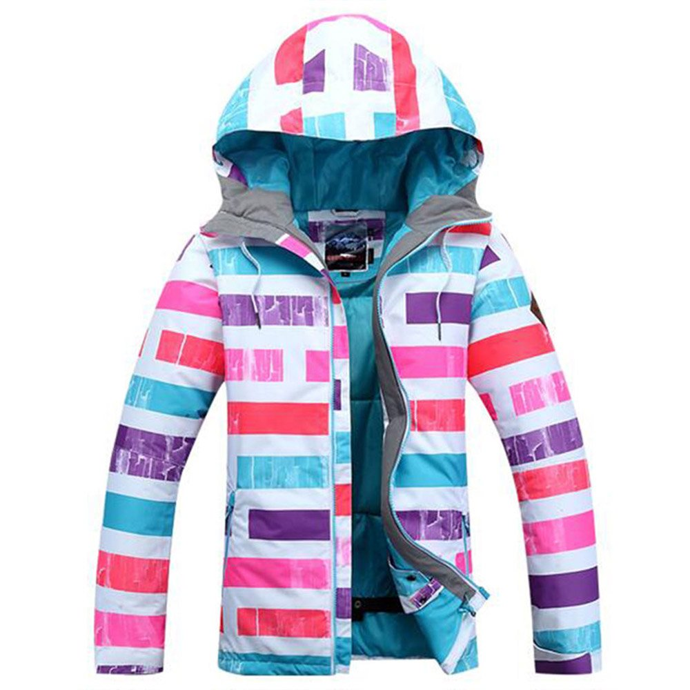 Winter Outdoor Children's Skiing Jacket Snowboard Coat Kids Sports Mountaineering Clothing Waterproof Girls Ski Jacket by GSOU SNOW