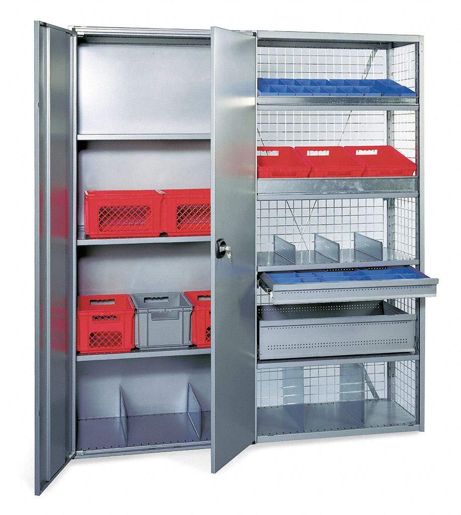 Steel Shelf, Gray, 1 EA