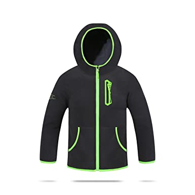 672041e25 Amazon.com: Baqijian Children Boys Solid Fleece Jacket Cardigan Sport  Hooded Coat Jersey Fall Winter Kids Outerwear Parka 3-14T: Clothing