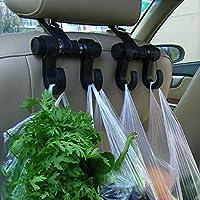 Generic Universal Car Back Seat Headrest Hanger Holder Hooks for Bag Purse Cloth Grocery