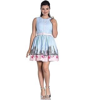 Hell Bunny Rockabilly Mini Dress MARIN Nautical Sailor   Navy Blue All Sizes