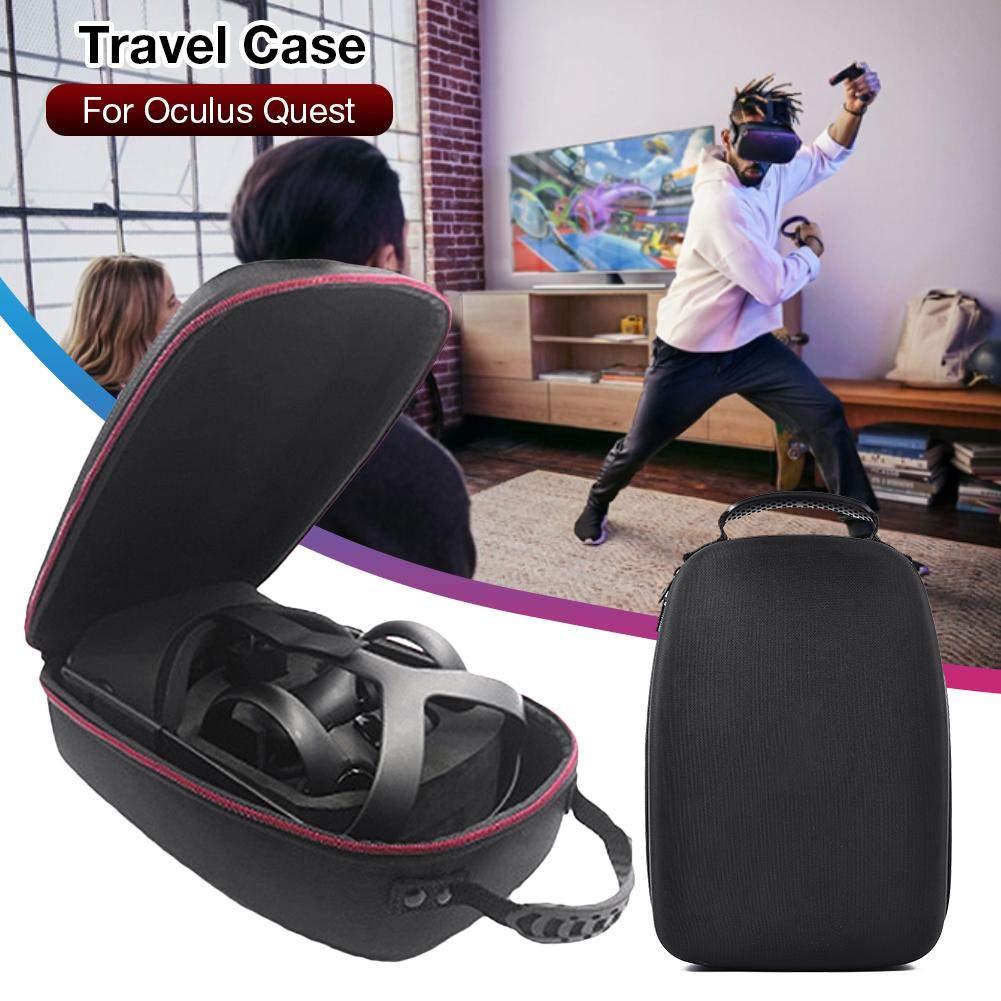 winnerruby /Étui de Transport avec Protection Interne pour Casque de Jeu VR Tout-en-Un Oculus Quest Sac de Transport Portable pour Casque de r/éalit/é virtuelle VR