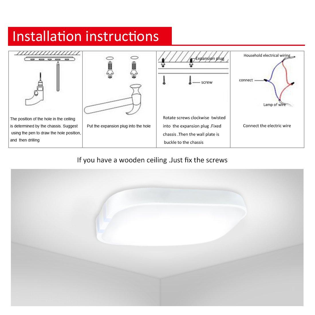 iluminaci/ón interior Berkalash control por smartphone grabado con concha negra l/ámpara de techo multicolor L/ámpara de techo LED l/ámpara de techo con altavoz de m/úsica Bluetooth