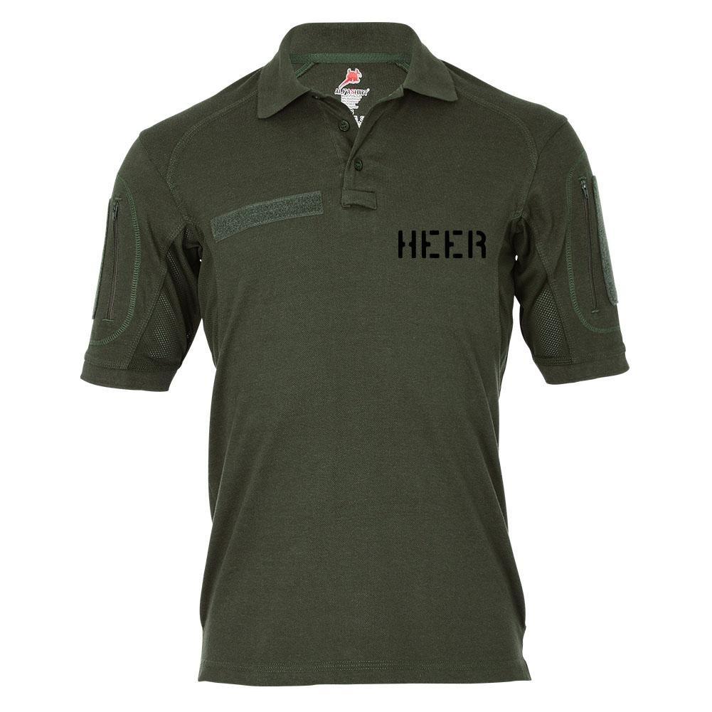 Tactical Poloshirt Alfa - Heer Teilstreitkraft Soldaten Einheit BW Armee Einheit Soldat  19290