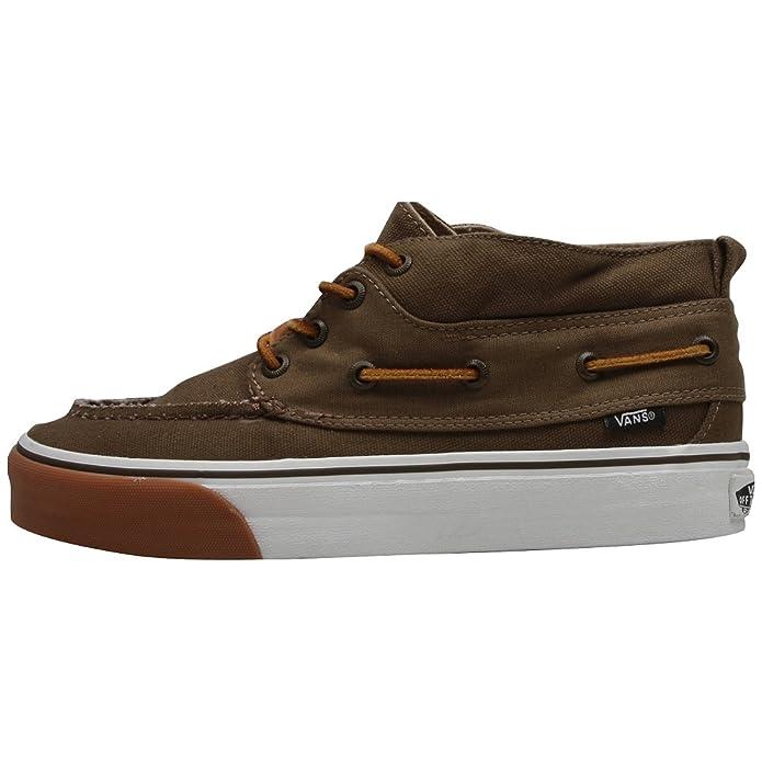 Vans Chukka Del Barco Decon CA Chaussures Marron - Marron - Marron fajU0m288l,