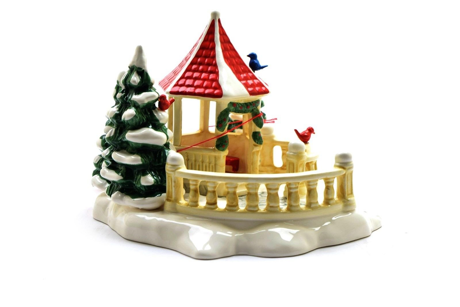Department 56 Snow Village ''Village Gazebo'' #5146-2 - EUC by Department 56 Snow Village (Image #3)