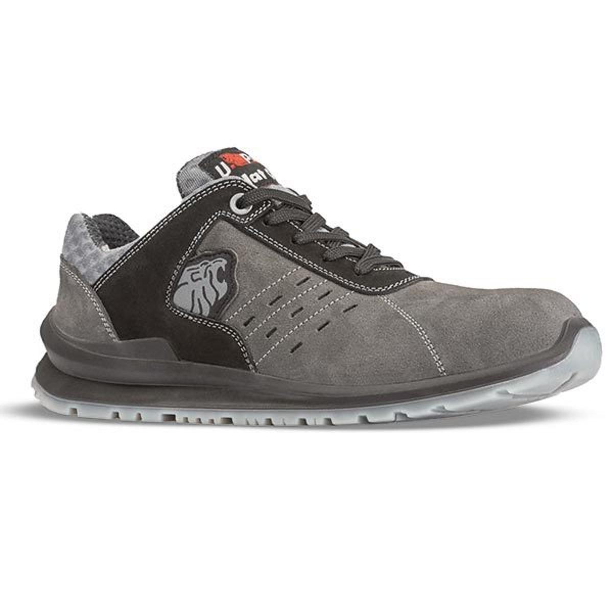 U-Power Zapato Seguridad Blanda Piel Ante con Orificios de Ventilación Carlos S1P 44: Amazon.es: Bricolaje y herramientas