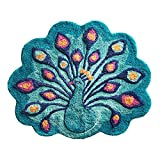Pier 1 Imports Peacock Bath Rug Bathroom Shower Mat
