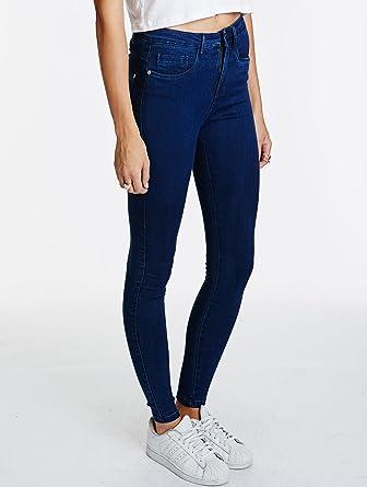 be95c57119 ONLY Jeans Royal High Skinny Jeans Pim501 Noos Medium Blue Denim S L34 Women