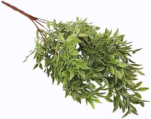 Topdo - Planta Artificial con diseño de angustifolia para ...