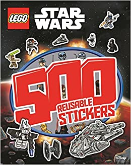 Book Lego Star Wars: 500 Reusable Stickers