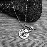 Infinity Collection Girls Gymnastics Charm Necklace, Gymnastics Jewelry - Gymnast Necklace for Gymnast