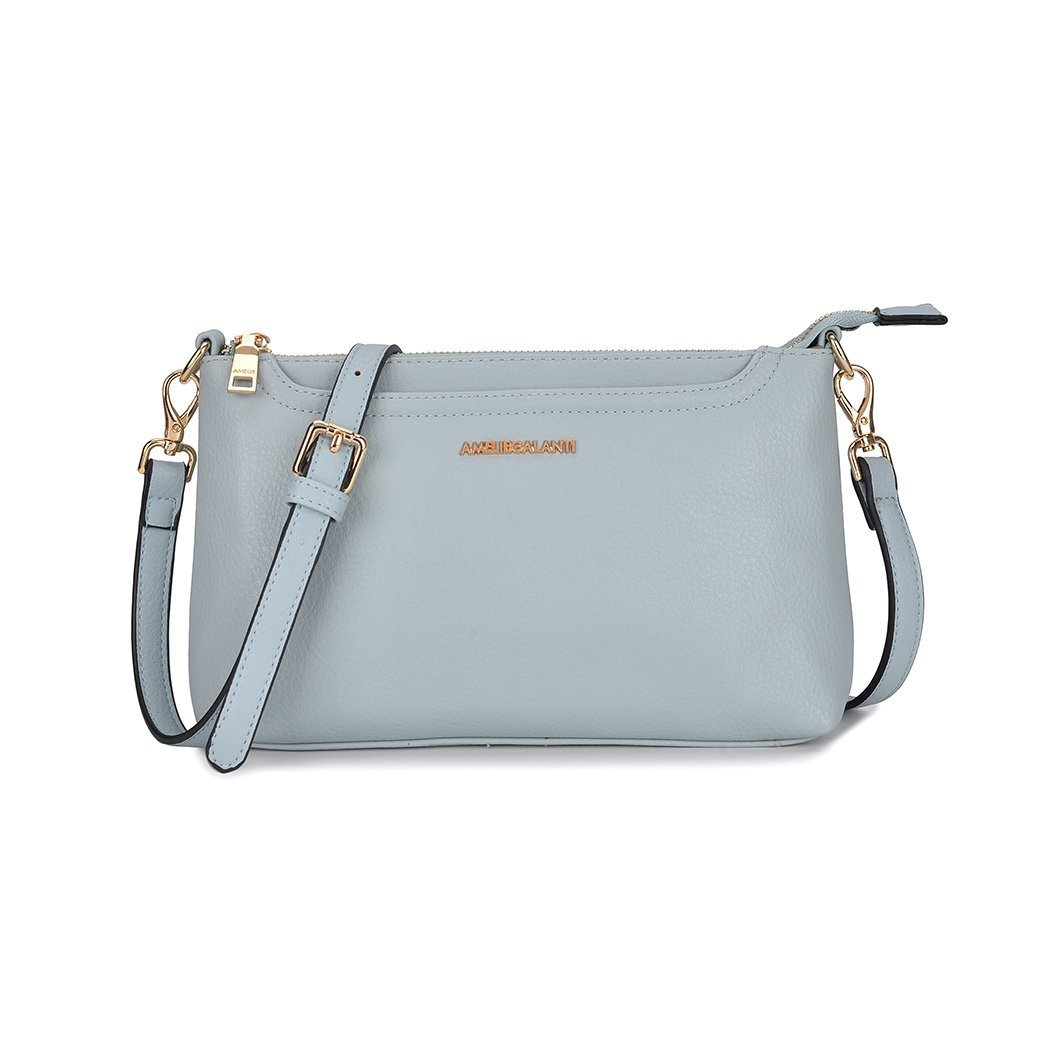 Small Shoulder Bags Zip Crossbody Bags Satchel for Women Tote Bag PU Leather