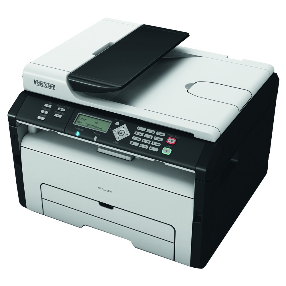Ricoh SP 204SFN - Impresora multifunción láser (6000 x 1200 dpi ...
