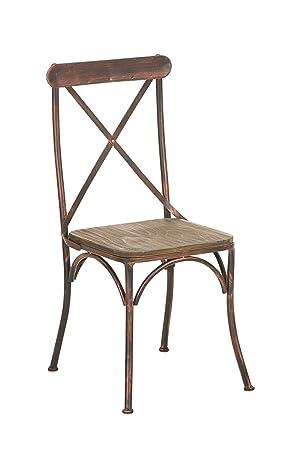 CLP Chaise De Bistro Bromley Design Industriel Assise En Bois Pitement Mtal