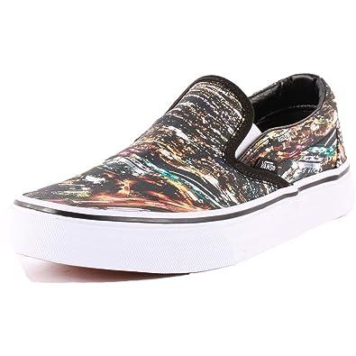 Classic Noir Slip Femmes On Chaussures 5 Multi38 Eu Vans 3Rj5qc4LSA