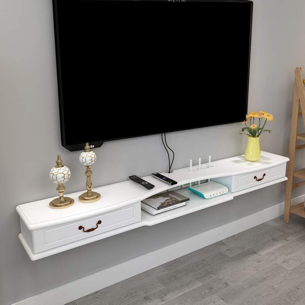 壁掛けテレビキャビネットフローティング棚壁掛けテレビスタンド棚ラックエンターテイメントコンソールゲーム棚ユニットコンポーネント棚テレビボードラック用リビングルーム (Size : 120cm) B07SYKJRLD  120cm