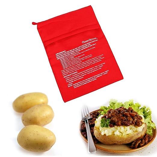 Onsinic 1pcs Microondas Hornear Patatas Bolsa rápida rápida ...